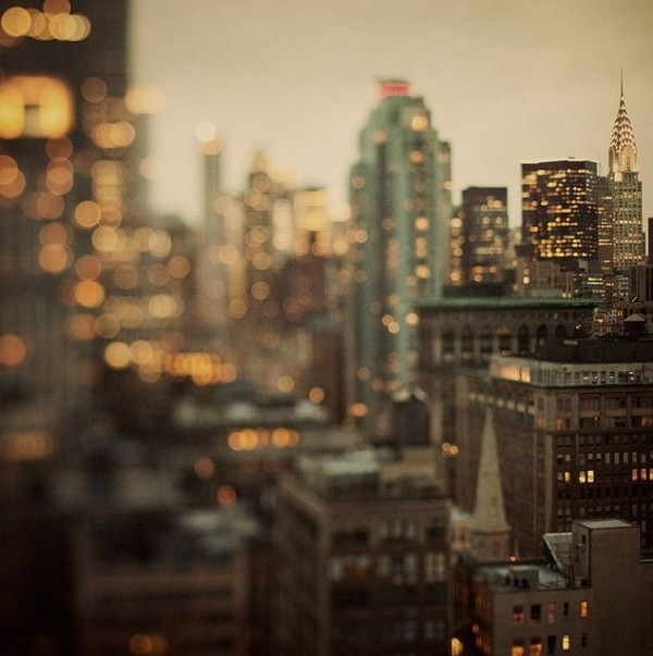 Tilt shift New York City